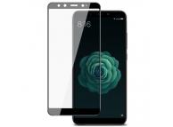 Folie Protectie Ecran Imak pentru Xiaomi Mi A2 (Mi 6X), Sticla securizata, Full Face, Full Glue, 3D, Neagra, Blister