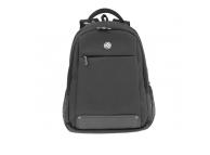 Rucsac textil laptop Tellur Companion, cu port USB, 15.6 inci, Neagra TLL611291