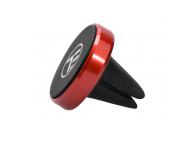 Suport Auto Universal Tellur MCM4 pentru telefon, Magnetic Air Vent, Rosu, Blister TLL171042