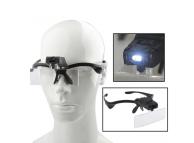 Ochelari reparatii service 9892B cu 5 lentile interschimbabile si LED, Blister
