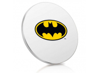 Incarcator Retea Wireless Finoo Batman Logo, Quick Charge, Multicolor, Blister 158013