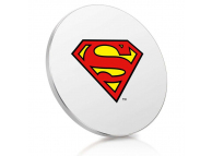Incarcator Retea Wireless Finoo Superman Logo, Quick Charge, Multicolor,  Blister 158037