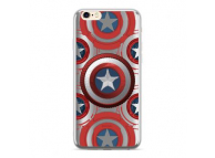 Husa TPU Marvel Captain America 014 pentru Huawei Mate 20 Lite, Argintie, Blister