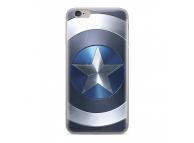Husa TPU Marvel Captain America 005 pentru Huawei Mate 20 Lite, Albastra, Blister