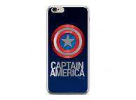 Husa TPU Marvel Captain America 001 pentru Huawei Mate 20 Lite, Argintie, Blister