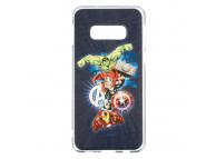 Husa TPU Marvel Avengers 001 pentru Samsung Galaxy S10e G970, Bleumarin, Blister