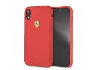 Husa TPU Ferrari pentru Apple iPhone XR, Rosie, Blister FESSIHCI61RE