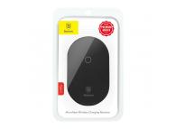 Sticker Incarcare Wireless Baseus Microfiber Pentru Telefon cu port USB Type-C, Negru, Blister