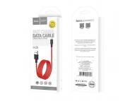 Cablu Date si Incarcare USB la Lightning HOCO Superior X29, 1 m, Rosu, Blister