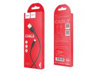 Cablu Date si Incarcare USB la USB Type-C HOCO Soarer X25, 1 m, Negru, Blister