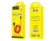 Cablu Date si Incarcare USB la USB Type-C HOCO Superior X29, 1 m, Rosu, Blister