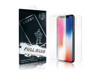 Folie Protectie Fata si Spate OEM pentru Samsung Galaxy S9 G960, Plastic, Full Cover, Full Glue, Hybrid 3D, Blister