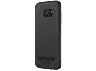 Husa TPU Griffin Survivor Journey pentru Samsung Galaxy S7 edge G935, Gri - Neagra, Blister GB42304