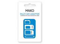 Adaptor SIM Mako Multi SIM, Alb, Blister