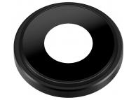 Geam Camera Spate cu rama Neagra Apple iPhone XR
