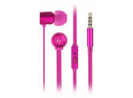 Handsfree Casti In-Ear KitSound Hive Buds, 3.5 mm, Cu microfon, Roz, Blister KSHIVBPI