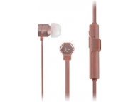 Handsfree Casti In-Ear KitSound Hive Buds, Bluetooth, Cu microfon, Roz - Auriu, Blister KSHIVBTRG