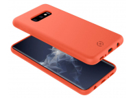 Husa TPU Celly Shock pentru Samsung Galaxy S10e G970, Portocalie, Blister SHOCK892OR