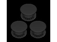 Suport Stand Adeziv 3 x Popsockets PopMinis pentru telefon Triple Black Blister