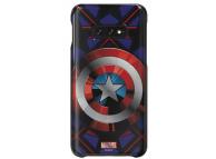 Husa Plastic Samsung Galaxy S10e G970,  Marvel Captain America, Albastra, Blister GP-G970HIFGHWC