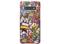 Husa Plastic Samsung Galaxy S10+ G975, Marvel Comics, Portocalie, Blister GP-G975HIFGHWH