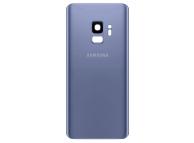 Capac Baterie Albastru cu geam camera, Swap Samsung Galaxy S9 G960
