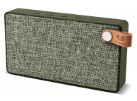 Boxa portabila Fresh'n Rebel Rockbox Slice Fabriq Edition, Bluetooth, Verde, Blister