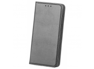 Husa Piele OEM Smart Magnetic pentru Telefon 6 inci, Neagra, Bulk