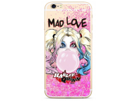 Husa TPU DC Comics Harley Quinn 001 pentru Apple iPhone X, Roz, Blister