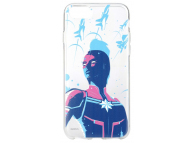 Husa TPU Marvel pentru Samsung Galaxy S8+ G955, Captain Marvel 010, Neagra, Blister