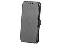 Husa Piele OEM Smart Pocket pentru Samsung Galaxy A7 (2018) A750, Neagra, Bulk