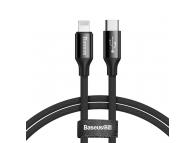 Cablu Date si Incarcare USB Type-C la Lightning Baseus Yiven, 1 m, Negru, Blister CATLYW-C01
