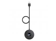 Hub Baseus Round USB 3.0 la 4xUSB (1xUSB 3.0, 3xUSB 2.0), Negru, Blister CAHUB-U01