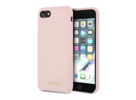 Husa TPU Guess pentru Apple iPhone 7 / Apple iPhone 8, Roz, Blister GUHCI8LSGLLP