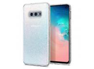 Husa TPU Spigen Liquid Crystal Glitter pentru Samsung Galaxy S10e G970, Transparenta, Blister 609CS25834