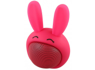 Mini Difuzor Bluetooth Forever Sweet Animal Rabbit  ABS-100, Roz Blister