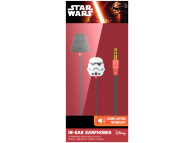 Handsfree Casti In-Ear Disney Star Wars Darth Vader, Cu microfon, 3.5 mm, Multicolor, Blister