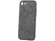Husa Piele - Plastic OEM Business pentru Apple iPhone 7 / Apple iPhone 8, Neagra, Blister