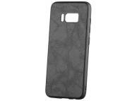 Husa Piele - Plastic OEM Business pentru Samsung Galaxy S8 G950, Neagra, Blister