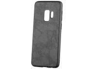 Husa Piele - Plastic OEM Business pentru Samsung Galaxy S9 G960, Neagra, Blister