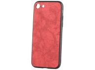 Husa Piele - Plastic OEM Business pentru Apple iPhone 7 / Apple iPhone 8, Rosie, Blister
