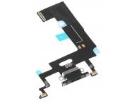 Banda Cu Conector Incarcare / Date - Microfon Negru Apple iPhone XR