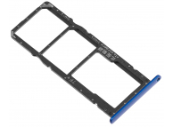 Suport SIM - Suport Card Albastru Huawei Honor 8X