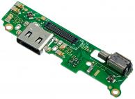 Placa Cu Conector Incarcare / Date - Motor Vibrator - Microfon Sony Xperia XA2