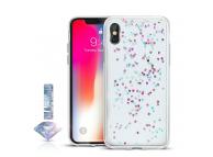 Husa TPU OEM Diamond pentru Samsung Galaxy A7 (2018) A750, Multicolor - Transparenta, Blister