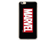 Husa TPU Marvel 001 pentru Apple iPhone X, Neagra, Blister MVPC045