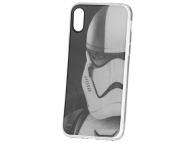 Husa TPU Disney Star Wars Stormtroopers (001) pentru Apple iPhone X, Neagra, Blister SWPCSTOR045