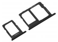 Suport Card - Suport SIM Negru Samsung Galaxy J6 J600 Dual SIM