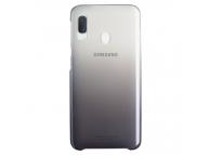 Husa Plastic Samsung Galaxy A20e, Gradation Cover, Neagra, Blister EF-AA202CBEGWW