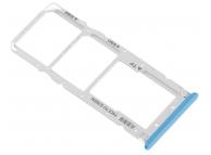 Suport Card - Suport SIM 1 / 2 Albastru Xiaomi Mi A2 Lite